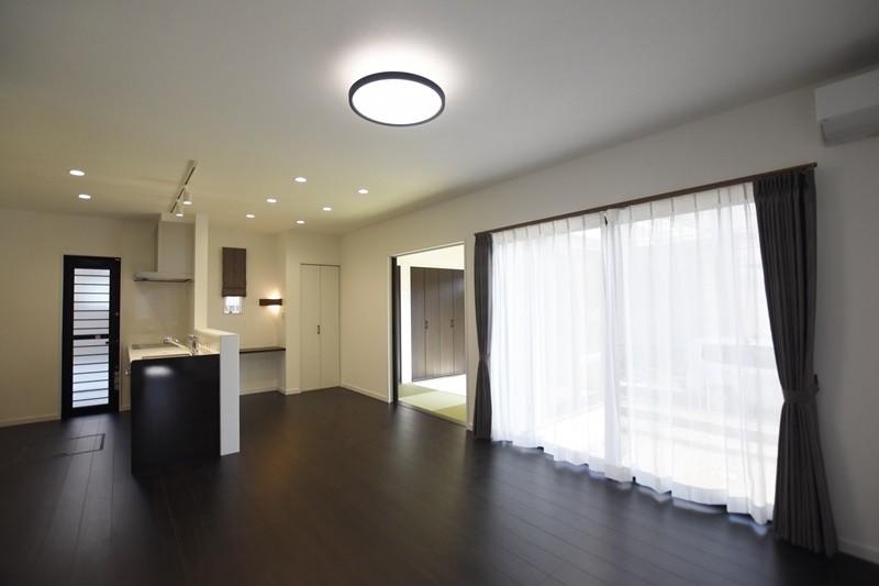 熊本市西区小島9丁目 新築一戸建て 1号地モデルハウス・LDK