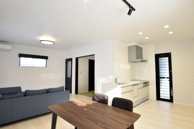 熊本市西区小島9丁目 新築一戸建て 5号地モデルハウス・LDK