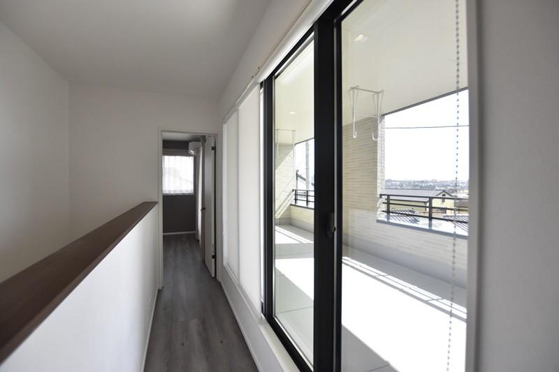 熊本市北区龍田8丁目 新築一戸建て 4号地モデルハウス・バルコニー