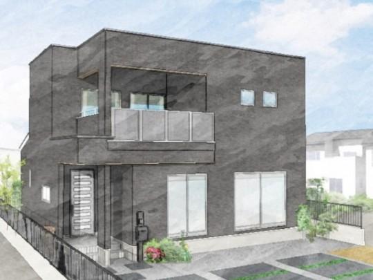 熊本市北区 新築一戸建て 10号地モデルハウスイメージパース