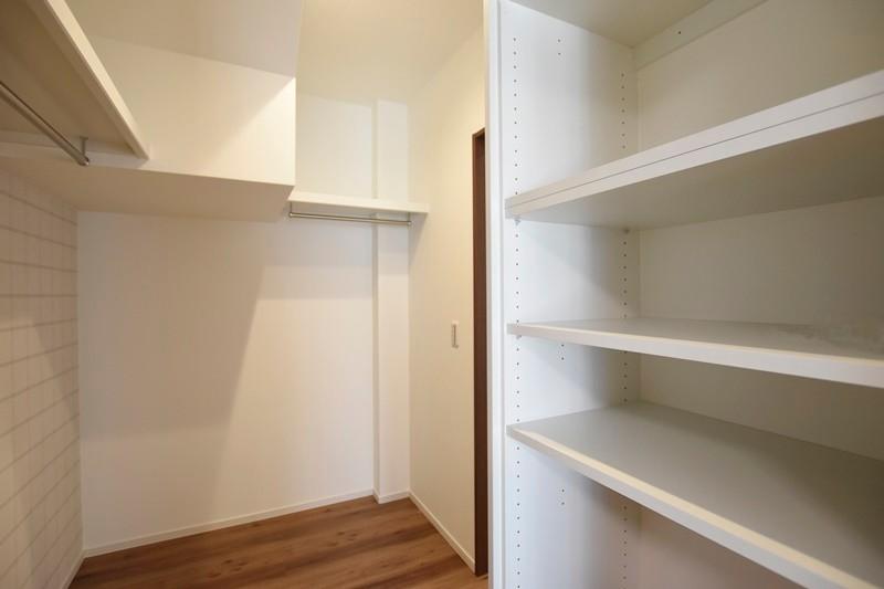 熊本市北区龍田8丁目 新築一戸建て 2号地モデルハウス・ファミリークローゼット