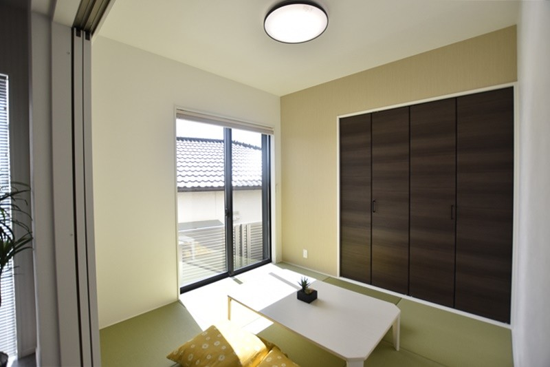 熊本市北区龍田8丁目 新築一戸建て 4号地モデルハウス・和室