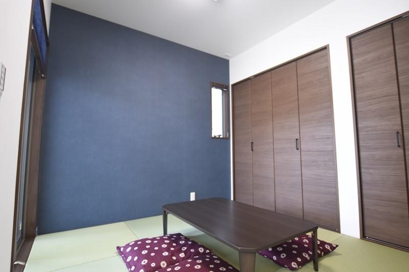 熊本市北区龍田8丁目 新築一戸建て 2号地モデルハウス・モダンな和室