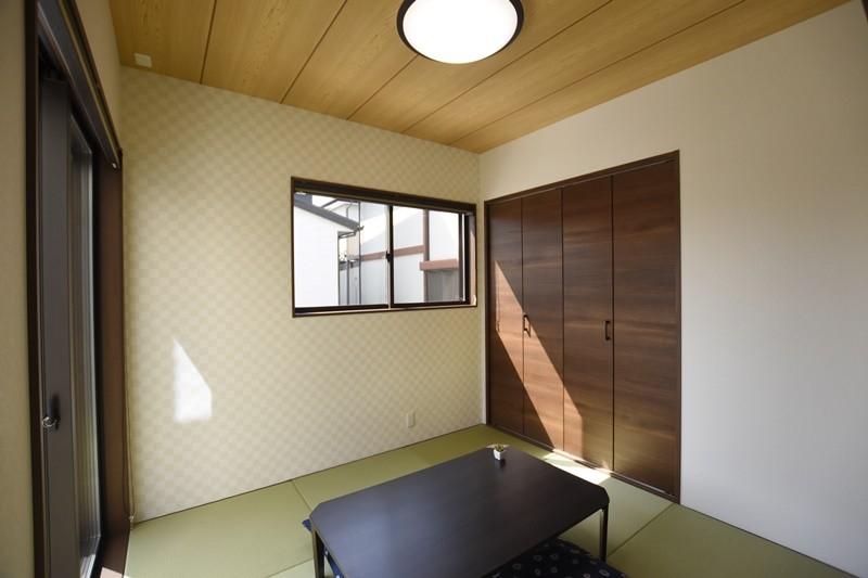 熊本市南区八分字町 新築一戸建て 2号地モデルハウス・落ち着いた雰囲気の和室