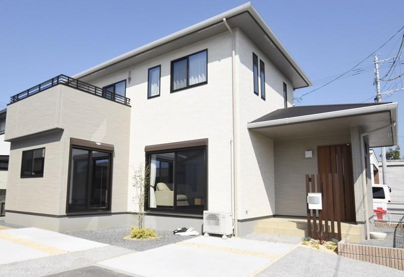 熊本市南区八分字町 新築一戸建て 2号地モデルハウス外観