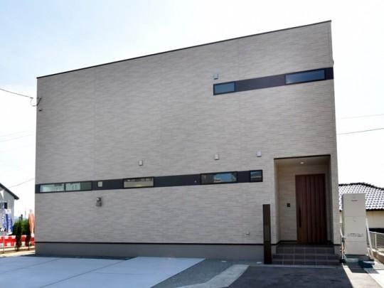 熊本市北区龍田8丁目 新築一戸建て 4号地モデルハウス外観