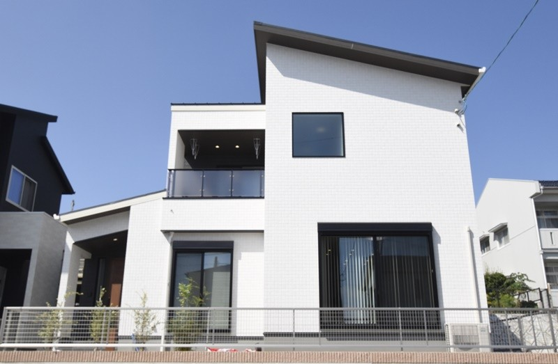 熊本市北区龍田8丁目 新築一戸建て 8号地モデルハウス・日当たり良好の立地!