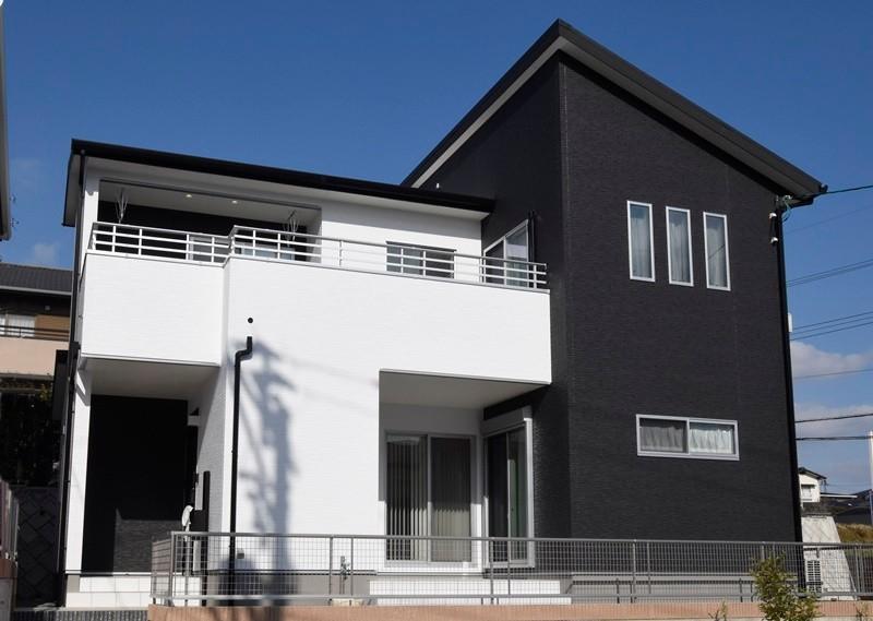 熊本市北区龍田8丁目 新築一戸建て 9号地モデルハウス外観
