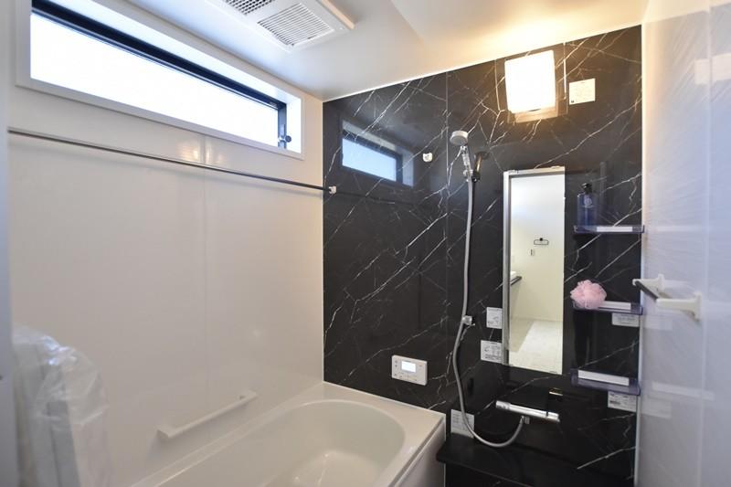 熊本市北区龍田8丁目 新築一戸建て 4号地モデルハウス・浴室