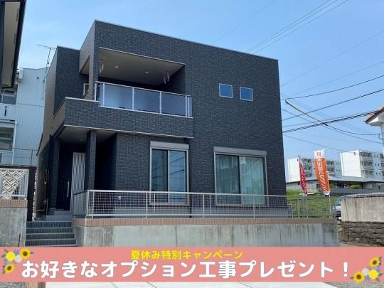 熊本市北区龍田8丁目 新築一戸建て 10号地モデルハウス 外観