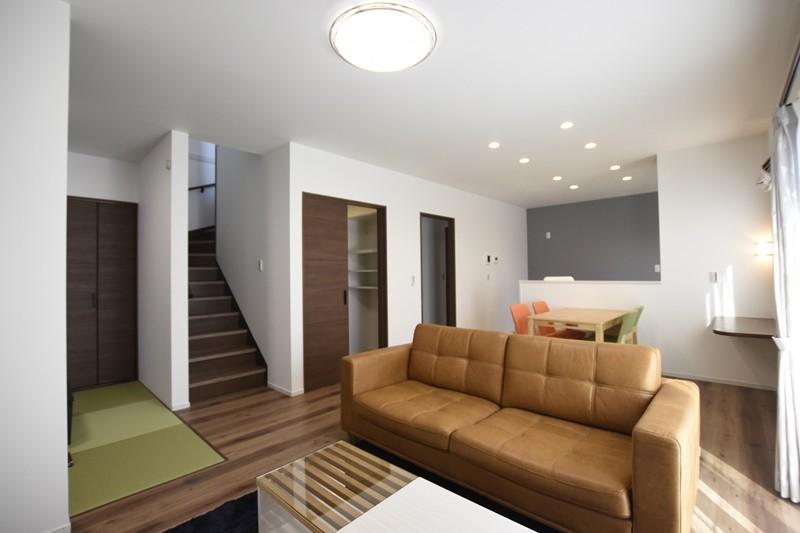 熊本市北区龍田8丁目 新築一戸建て 2号地モデルハウス・LDK