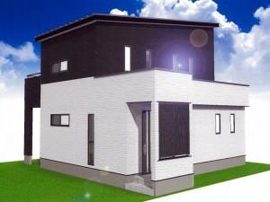 熊本市南区出仲間1丁目 新築一戸建て 1号地モデルハウスイメージパース