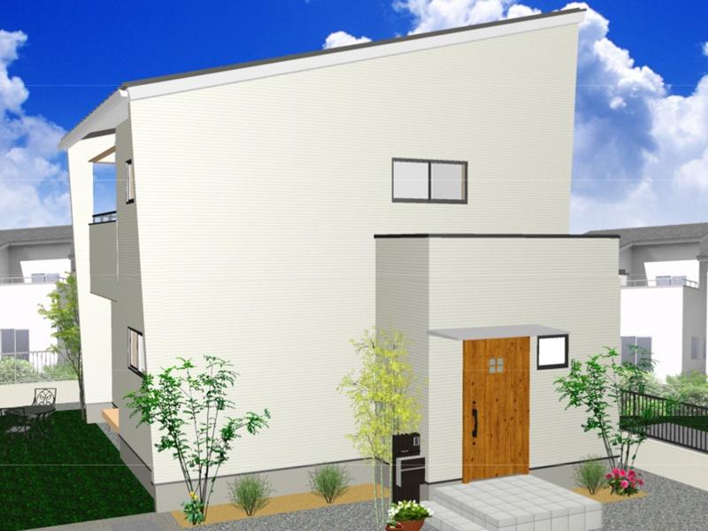 熊本市西区小島5丁目 新築一戸建て 3号地モデルハウスイメージパース