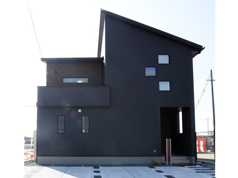熊本市西区小島5丁目 新築一戸建て 11号地モデルハウス外観