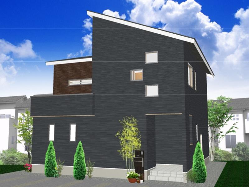 熊本市西区小島5丁目 新築一戸建て 11号地モデルハウスイメージパース