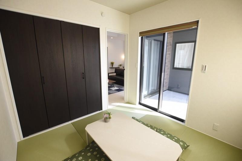 熊本市西区小島5丁目 新築一戸建て 11号地モデルハウス・和室