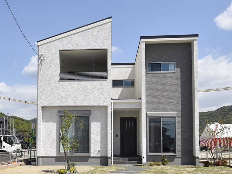 熊本市西区小島5丁目 新築一戸建て 13号地モデルハウス外観