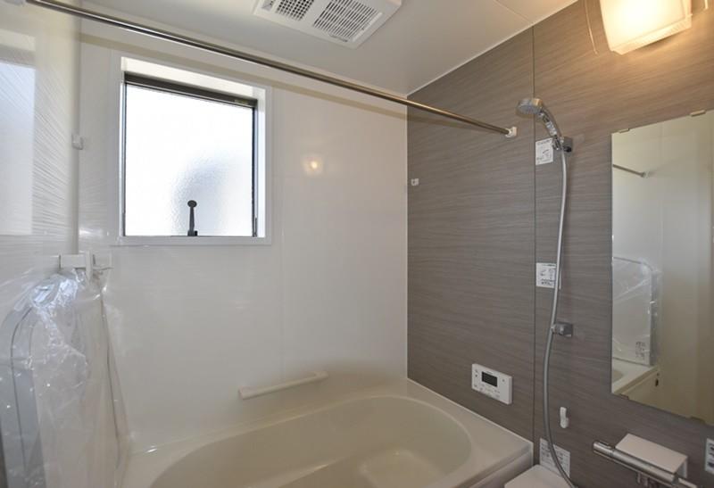 熊本市西区小島5丁目 新築一戸建て 13号地モデルハウス・浴室