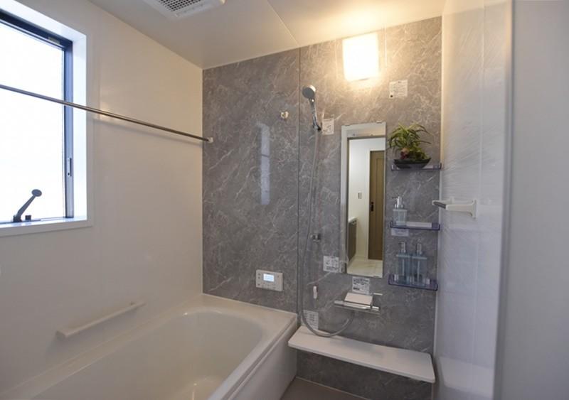 熊本市西区小島5丁目 新築一戸建て 11号地モデルハウス・浴室