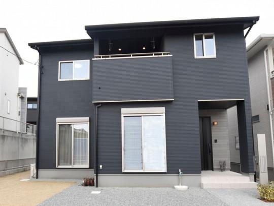 熊本市北区鶴羽田3丁目 新築一戸建て 5号地モデルハウス外観