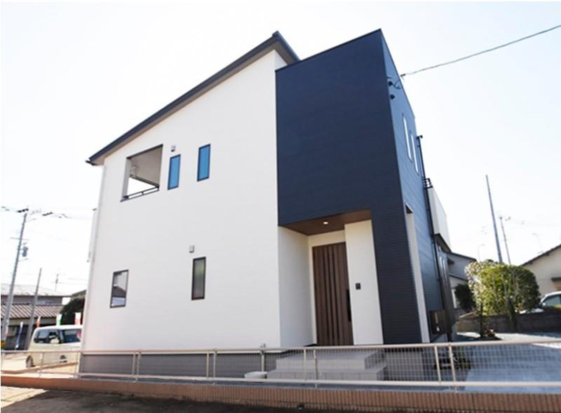 熊本市東区若葉5丁目 新築一戸建て 2号地モデルハウス外観