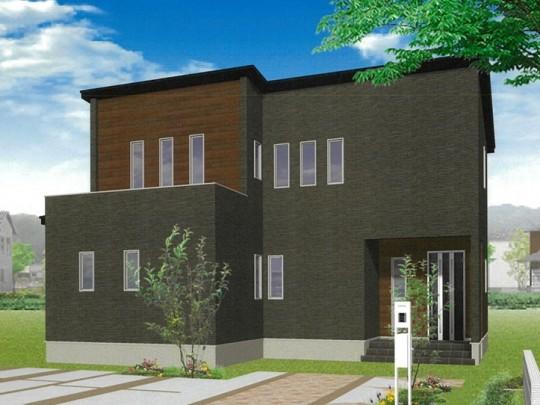 熊本市北区鶴羽田4丁目 新築一戸建て 4号地モデルハウスイメージパース