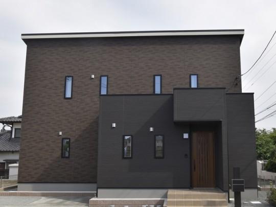 熊本市北区龍田5丁目 新築一戸建て 6号地モデルハウス外観