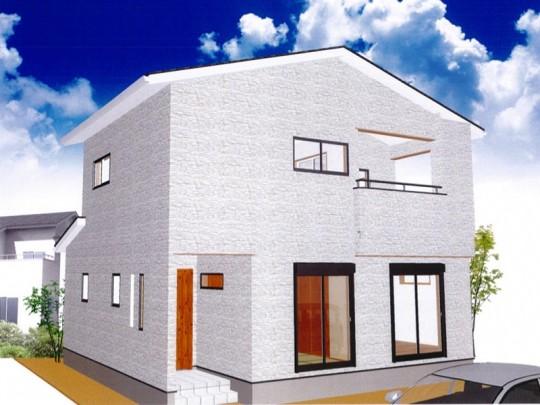 熊本市北区龍田5丁目 新築一戸建て 4号地モデルハウスイメージパース