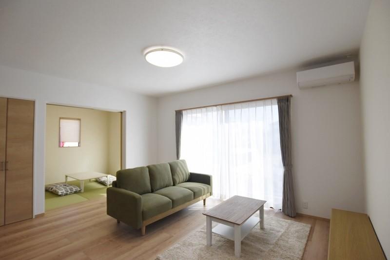 熊本市東区若葉5丁目 新築一戸建て 2号地モデルハウス・リビング
