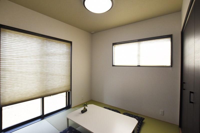 熊本市東区佐土原1丁目 新築一戸建て 2号地モデルハウス・和室