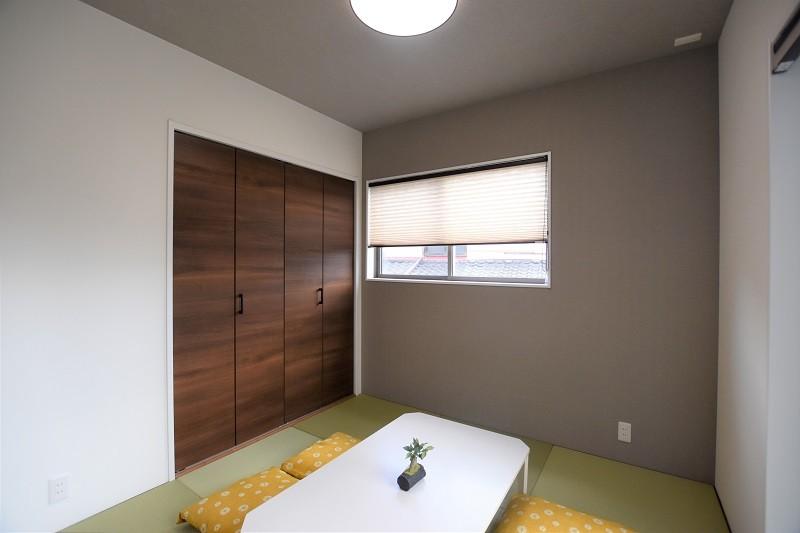 熊本市東区佐土原1丁目 新築一戸建て 3号地モデルハウス・モダンな和室