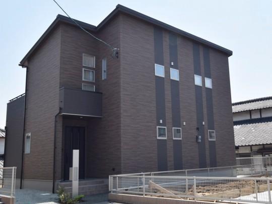 熊本市東区佐土原1丁目 新築一戸建て 3号地モデルハウス外観
