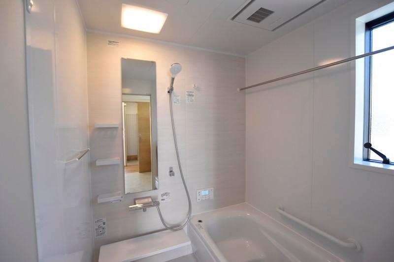 熊本市東区若葉5丁目 新築一戸建て 2号地モデルハウス・浴室
