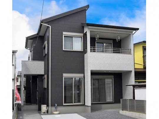 熊本市東区若葉5丁目 新築一戸建て 4号地モデルハウス外観