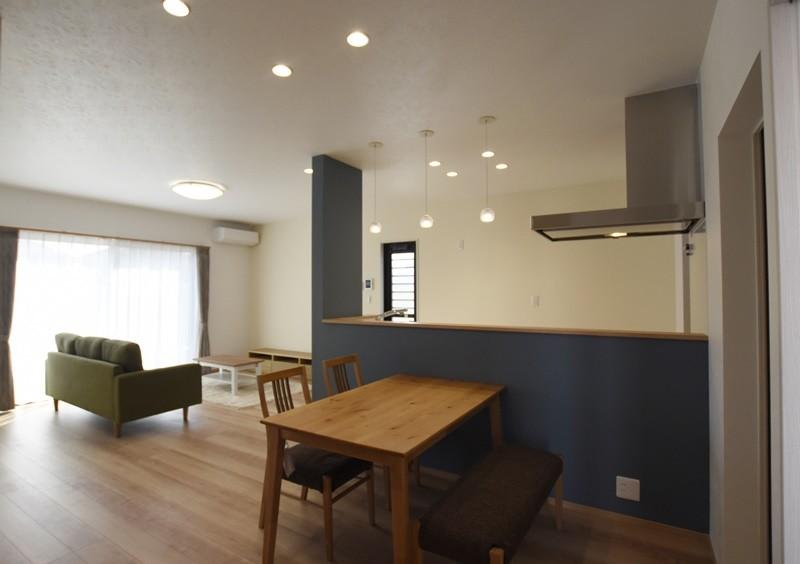 熊本市東区若葉5丁目 新築一戸建て 2号地モデルハウス・LDK