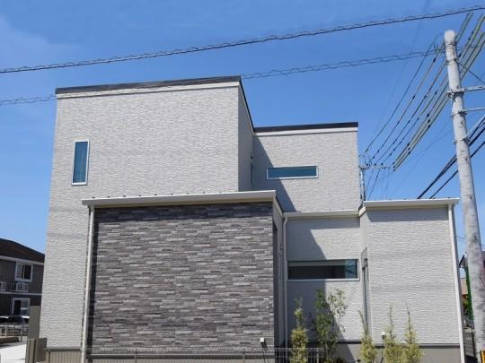 熊本市北区鶴羽田4丁目 新築一戸建て 8号地モデルハウス外観