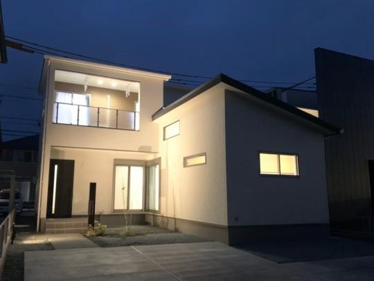 熊本市北区鶴羽田4丁目 新築一戸建て 2号地モデルハウス 外観