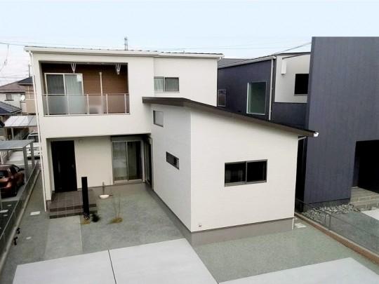 熊本市北区鶴羽田4丁目 新築一戸建て 2号地モデルハウス外観