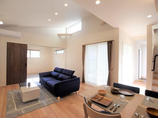 熊本市北区鶴羽田4丁目 新築一戸建て 2号地モデルハウス・LDK
