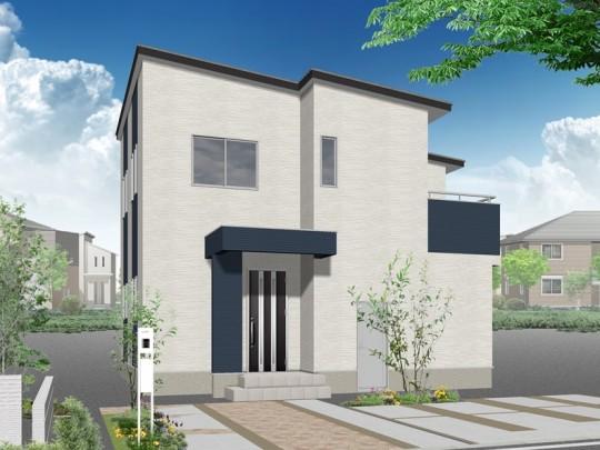 熊本市北区麻生田5丁目 新築一戸建て 2号地モデルハウスイメージパース