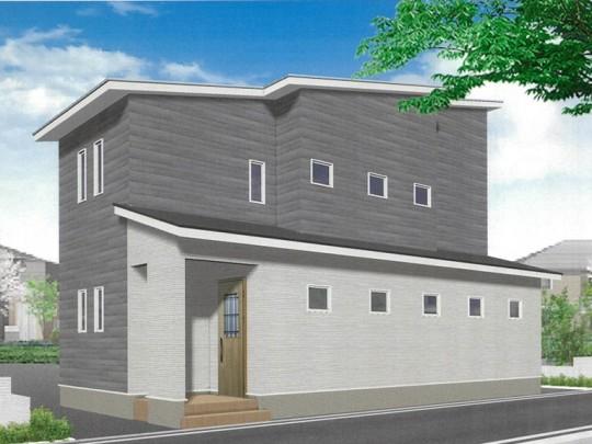 熊本市中央区琴平1丁目 新築一戸建て 2号地モデルハウスイメージパース
