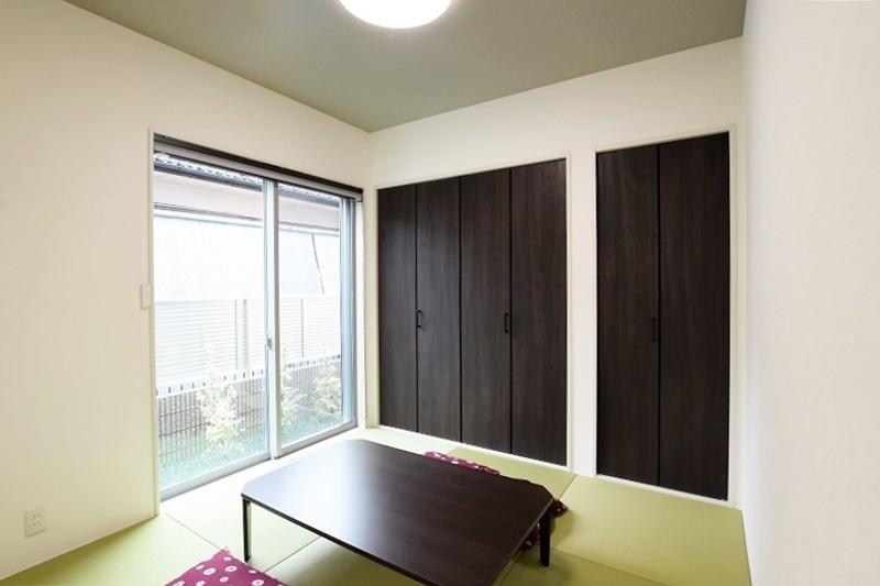 熊本市北区麻生田5丁目 新築一戸建て 2号地モデルハウス・和室