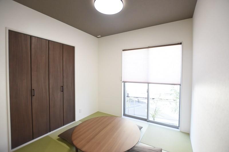 熊本市北区麻生田5丁目 新築一戸建て 3号地モデルハウス・明るい和室