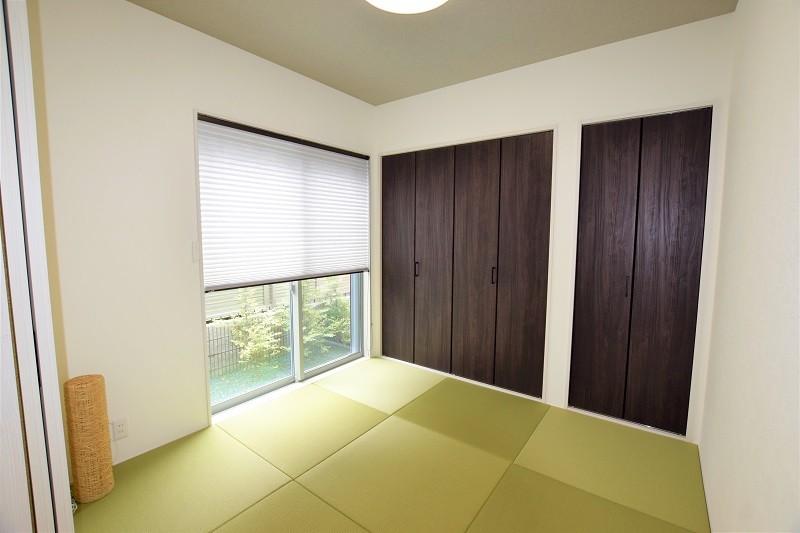 熊本市北区麻生田 新築一戸建て トレステージ麻生田小学校前Ⅱ2号地モデルハウス・和室