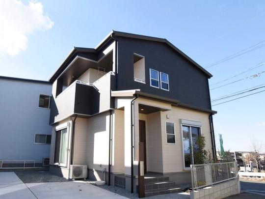 熊本市北区麻生田5丁目 新築一戸建て 3号地モデルハウス外観