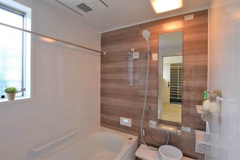 熊本市北区麻生田 新築一戸建て トレステージ麻生田小学校前Ⅱ2号地モデルハウス・浴室