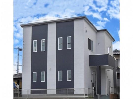 熊本市北区麻生田5丁目 新築一戸建て 2号地モデルハウス外観