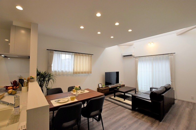 熊本市北区麻生田 新築一戸建て トレステージ麻生田小学校前Ⅱ2号地モデルハウス・LDK