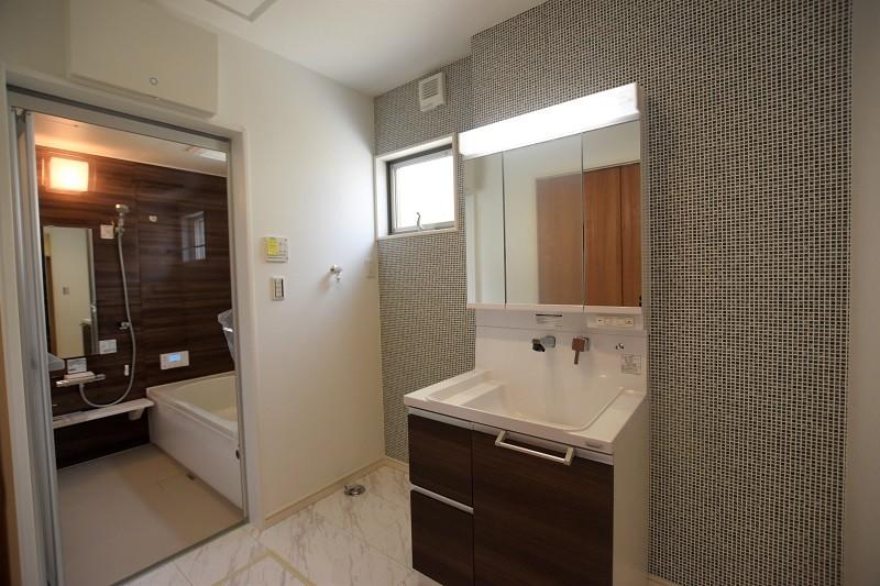 熊本市西区小島5丁目 新築一戸建て 2号地・洗面脱衣室