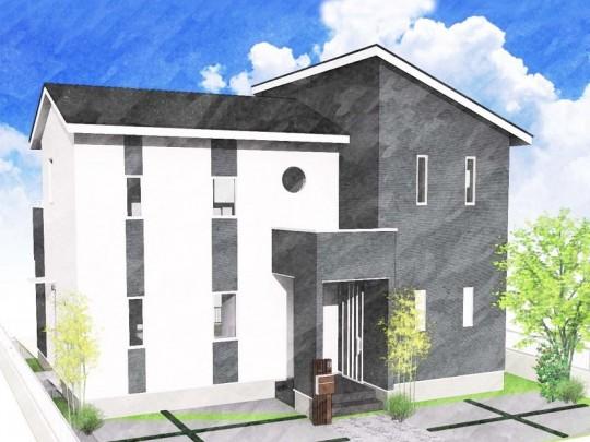 熊本市東区小山5丁目 新築一戸建て 4号地モデルハウスイメージパース
